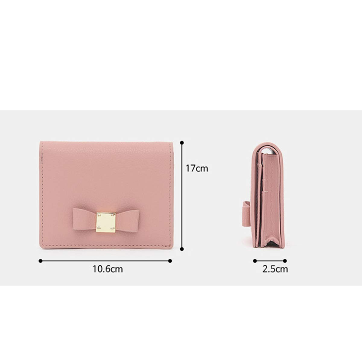 Xingganglengyin FROMb Korea Cute Personality Mini Credit Card ID Bit Small and Simple Business Card Package Multi Card Card Clip Thin Color : Blue