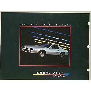 1984 Chevrolet Camaro Berlinetta CommandCenter Brochure