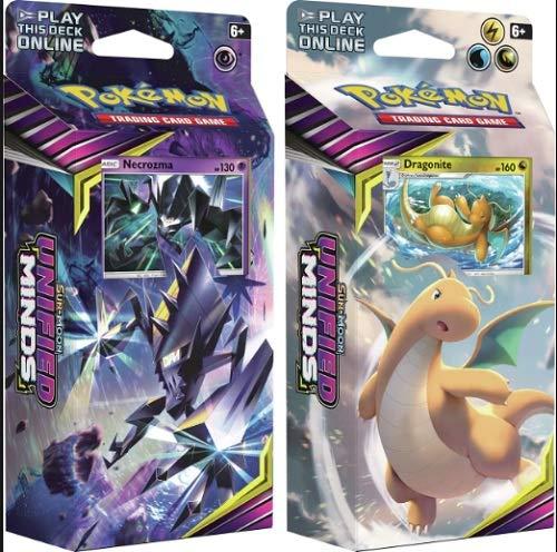 Pokemon Sun & Moon Unified Minds Theme Decks Necrozma & Dragonite! - http://coolthings.us