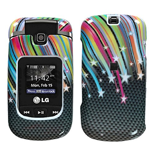 Mybat Protector Cover for LG VX8370 - Retail Packaging - ...