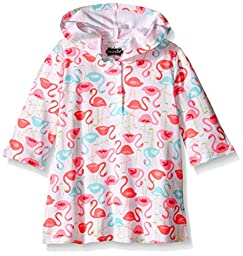 Mud Pie Baby Flamingo Cover-Up, Multi, Small/12-18 Months