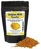Golden Milk Powder Turmeric Tea Drink Mix, Pre-Mixed Turmeric Golden Milk Mix, Turmeric, Ginger, and Black Pepper (70+ Servings)