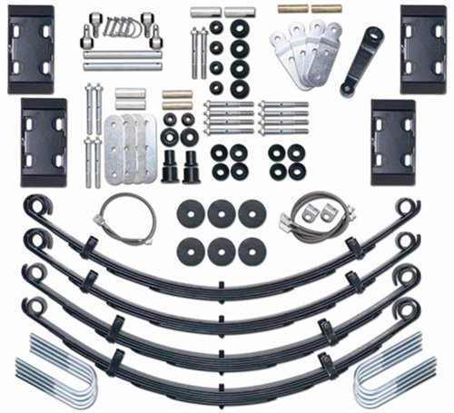 Greaseable Shackle Kit - Rubicon Express RE5525 4.5
