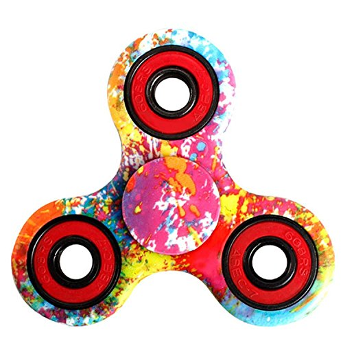 Price comparison product image ATESSON Fidget Spinner Toy Ultra Durable Stainless Steel Bearing High Speed 5-7 Min Spins Precision Metal Hand spinner EDC ADHD Focus Anxiety Stress Relief Boredom Killing Time Toys