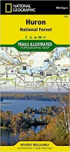 Best huron national forest map list