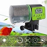 Automatic Fish Feeder Electric Auto Fish Feeder Vacation Fish Feeder Moisture-Proof Fish Food Dispenser for Aquarium