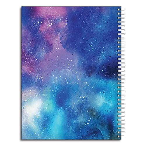 "She Believed Personalized Notebook/Journal, Laminated Soft Cover, 120 College Ruled or Dot Grid pages, lay flat wire-o spiral. Multiple sizes, 8.5"" x 11"", 5.5"" x 8.5"". Made in the USA Photo #2"