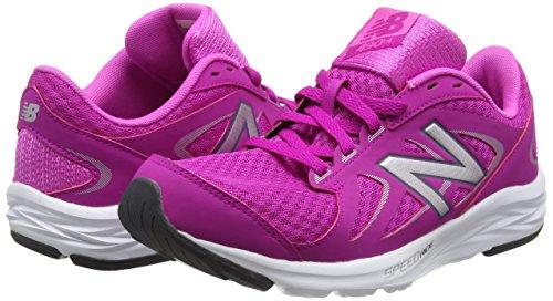 pink silver 650 Multicolore Da Scarpe Donna New Balance 490 Corsa fq0xwz8S