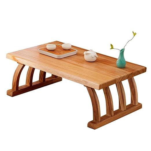 Mesas Mesa Cuadrada De Café Mesa De Madera Tatami Mesa De Té Japonés Sala De Estar