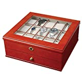 Mele & Co. 0067711 Chris Locking Wooden Watch Box