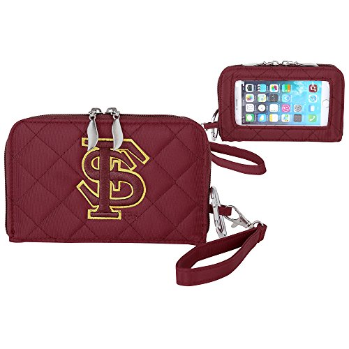 Florida State Seminoles Quilted Cell Phone Wallet