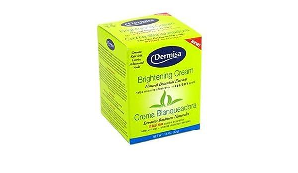 Amazon.com : Dermisa Crema Blanqueadora - Crema Antimanchas Y Blanqueadora - Tratamiento Elimina Manchas : Beauty