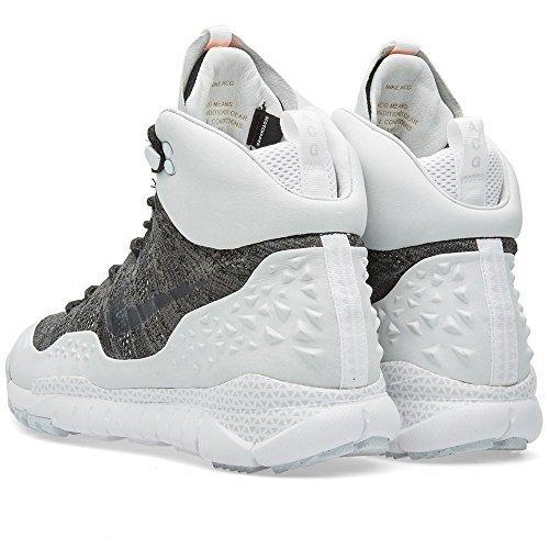 Nike Mens NikeLab Lupinek Flyknit ACG High Tops Boots 826077 (8, Black/Black-Anthracite)