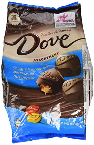 Dove Assortment, Caramel, Milk Chocolate, Dark Chocolate 35 ()