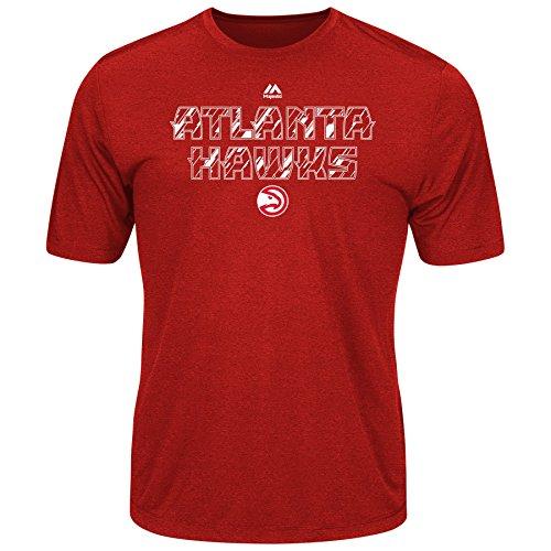 Majestic NBA Men's Future Highlight Play Performance T-shirt (Large, Atlanta Hawks)