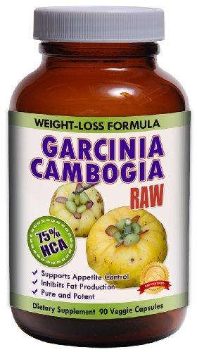 Extracto crudo TM puro Garcinia Cambogia 75% HCA - 1500mg por porción