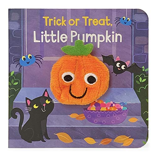 Trick or Treat, Little Pumpkin (Finger Puppet Board Books) (Finger Puppet