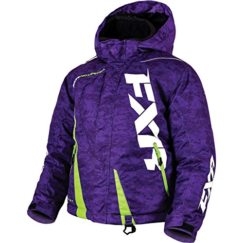 16 Mechanical Boost - FXR Youth Boost Jacket Purple Size 16