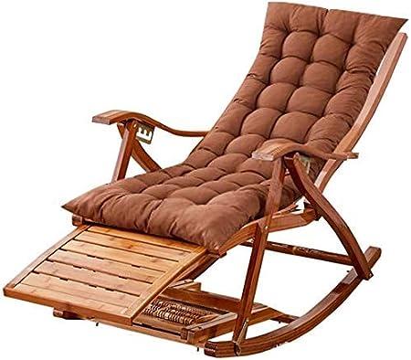 Yuany Tumbona al aire libre, balcón, tumbona, tumbona interior, tumbona de interior, silla plegable para jardín, patio: Amazon.es: Hogar