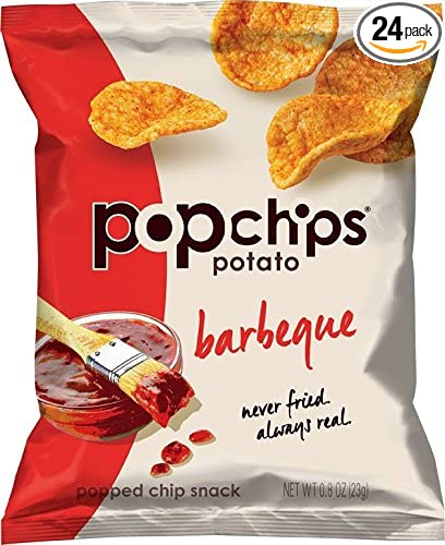 Popchips Potato Chips, BBQ Potato Chips,