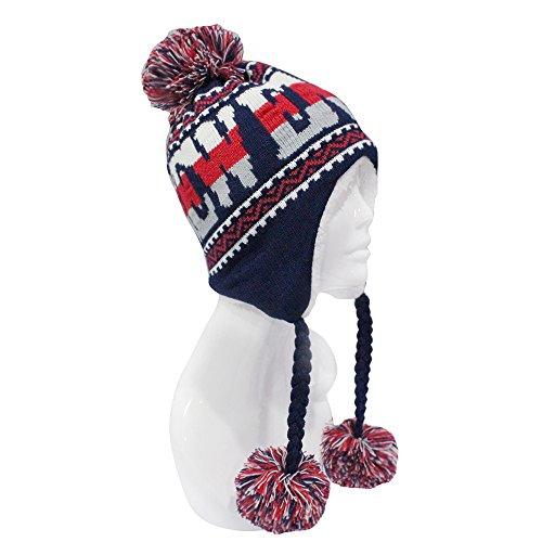 Hats Gear Apparel - ChoKoLids Football Team City Name Knitted Pom Pom Earflap Winter Hat - 23 Cities (New England)