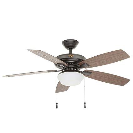 Amazon.com: JSAUTO 52 in. Ventilador de techo de hierro ...