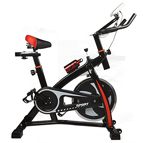 Ultra Quiet Exercise Workout Adjustable Bike for Indoor Trainer Health Fitness LOSCATO