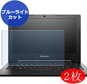 """【2 Pack】 Synvy Anti Blue Light Screen Protector for Lenovo ideapad S215 11.6"""" Screen Film Protective Protectors [Not Tempered Glass]"""