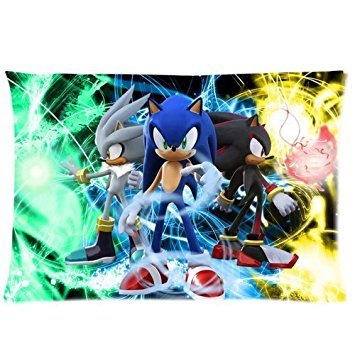 Sonic the Hedgehog Decorative Standard Pillowcase 20x30(One Side) by Sunflower