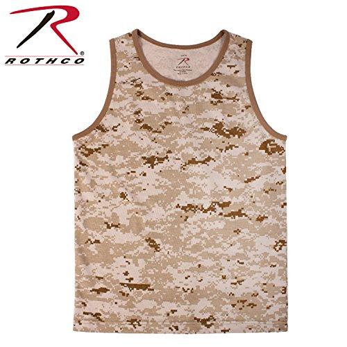 Tank Desert Camouflage - Rothco Tank Top, Desert Digital Camo, 2X
