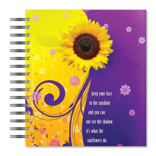 ECOeverywhere Face to the Sun Picture Photo Album, 18 Pages, Holds 72 Photos, 7.75 x 8.75 Inches, Multicolored (PA18111)