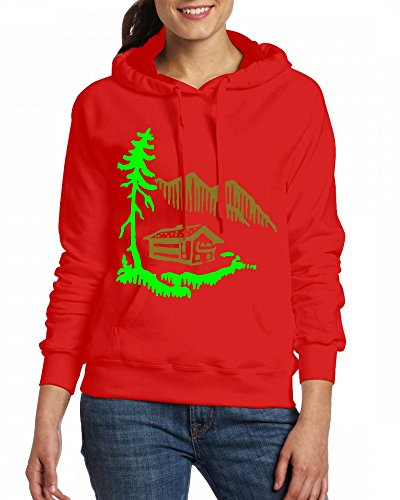Custom Womens Hooded - Design Alps Landscape Hoodies