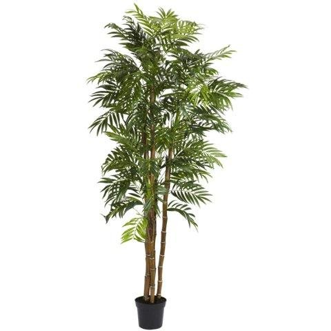 Exclusive By Nearly Natural 6 Ft Bella Palm Silk Tree by Unique's Shop