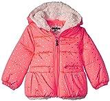 Osh Kosh Baby Girls Perfect Heavyweight Jacket Coat, Coral Foil Dots, 24M