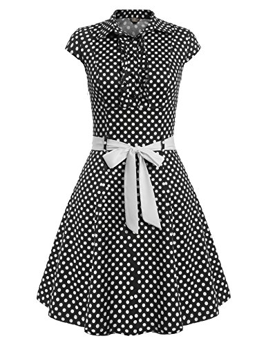 ACEVOG-Women-Audrey-Hepburn-50s-Retro-Dots-Rockabilly-Swing-Party-Vintage-Dress