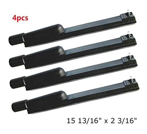 Vicool Cast Iron Barbecue Gas Grill Replacement Burner for Jennair, Lowes Model Grills, hyB630 (4-pack)