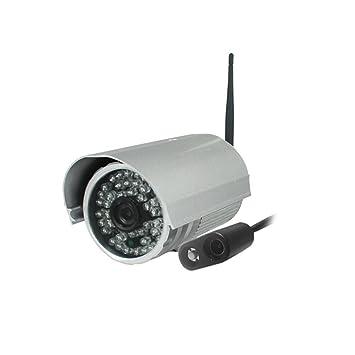 IP Cámara de Vigilancia, Visión Nocturna Vigilancia Seguridad Wifi, Impermeable HD 720P Inalámbrica Camera