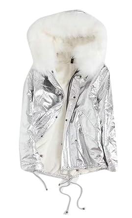 fcbdf9b4a Amazon.com: Xswsy XG Womens Winter Faux Fur Hood Warm Down Puffer ...