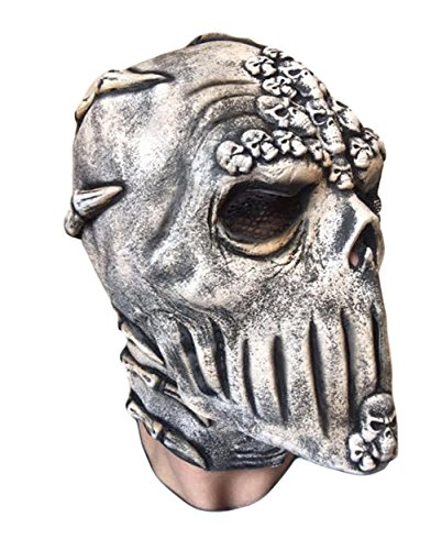 Skeleton Skull Mask by Rubber Johnnies, Latex, Day Of The Dead, Voodoo (James Mask Latex)
