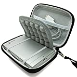 """Marktore(TM)Shock-proof Hard Black Carrying Case Bag for 2.5"""" Samsung M3 Slimline / Toshiba Canvio Basics / Transcend / Seagate Expansion / WD Western Digital My Passport Ultra / Inateck 2.5 Inch Portable External Hard Drive Disk HDD 750GB 1TB 2TB"""