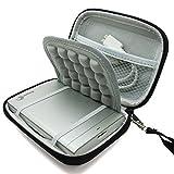 "Marktore(TM)Shock-proof Hard Black Carrying Case Bag for 2.5"" Samsung M3 Slimline / Toshiba Canvio Basics / Seagate Expansion / WD My Passport Portable External Hard Drive"