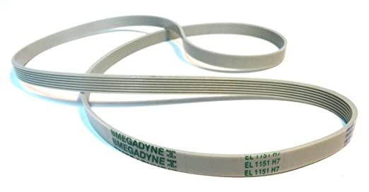 Megadyne - Correa de lavadora EL 1151 H7