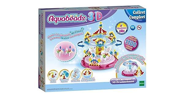 Aquabeads 31392 - Carrusel 3D: Amazon.es: Juguetes y juegos