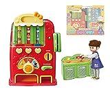 KONGSUNI Vending machine play Toys / Coin & playing cards girl's toy