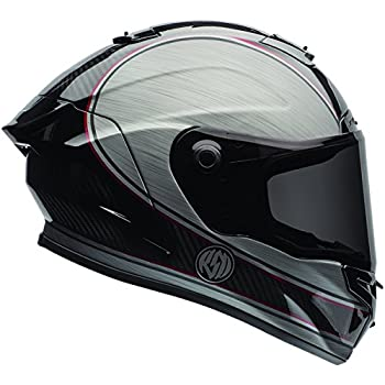 Bell Race Star Full Face Motorcycle Helmet (RSD Chief Silver, X-Small) (Non-Current Graphic)