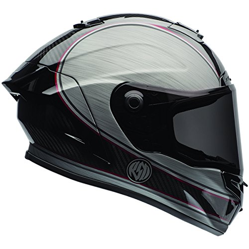 Bell Race Star RSD Chief Silver Full Face Helmet - X-Large