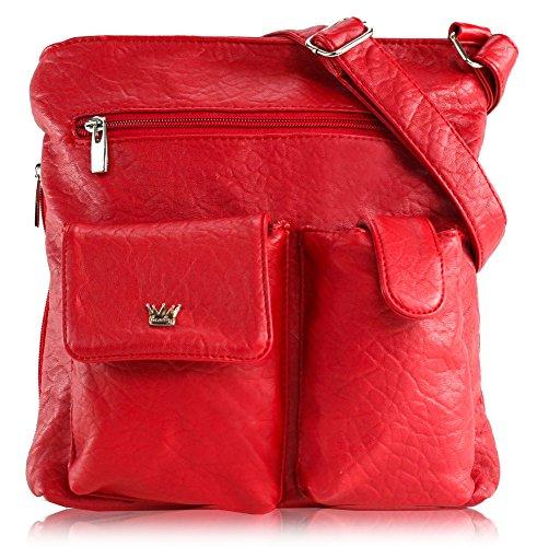 Purse King Colt Concealed Carry Handbag (Candy Apple (Apple Red Handbag)