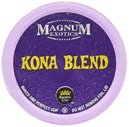 Magnum Coffee K-Cups, Kona, 18 Be confident of