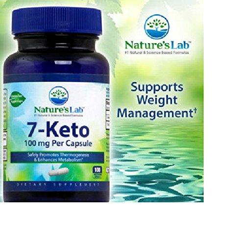 Laboratorio 7-Keto de la naturaleza 100 mg, 100 cápsulas vegetarianas
