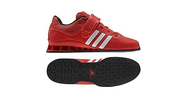 Adidas Adipower Levantamiento De Pesas Botín - Rojo, hombre, 49 1/3 EU: Amazon.es: Zapatos y complementos